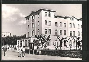 """Ansichtskarte Warnemünde, FDGB-Erholungsheim """"Meer des Friedens"""""""