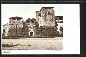 Cartolina Rimini, Rocca Malatestiana