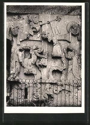 Foto-Ansichtskarte Deutscher Kunstverlag, Nr.1: Kreuzabnahme bei den