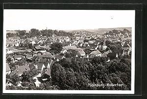 Ansichtskarte Mainburg, Gesamtansicht aus der Vogelschau