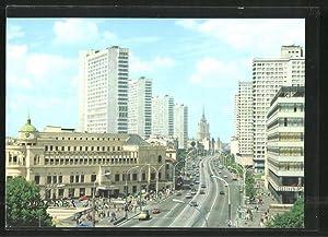 Ansichtskarte Moscow, Kalinin Avenue
