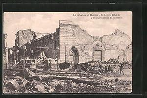 Ansichtskarte Messina, La catastrofe, La Storica Cattedrale