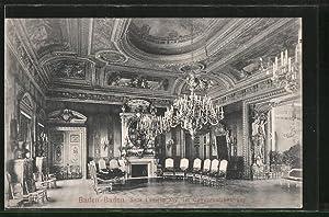 Ansichtskarte Baden-Baden, Saal Ludwig XIV. im Conversationshaus