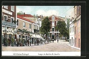 Ansichtskarte Cintra, Largo da Rainha D. Amelia
