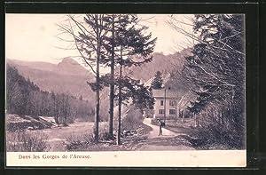 Ansichtskarte Dans les Gorges de l'Areuse, Ortsansicht