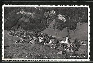 Ansichtskarte Melchthal, Panorama
