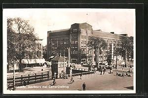 Ansichtskarte Utrecht, Jaarbeurs met Catharijnebrug