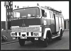Fotografie LKW Magirus Deutz, Lastwagen der Berufs-Feuerwehr