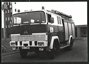 Fotografie LKW Magirus Deutz, Feuerwehrfahrzeug, Lastwagen der