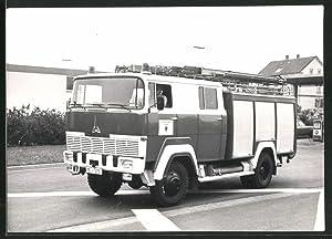 Fotografie LKW Magirus Deutz, Feuerwehr-Lastwagen der Berufsfeuerwehr