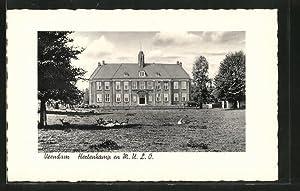 Ansichtskarte Veendam, Hertenkamp en M.U.L.O.