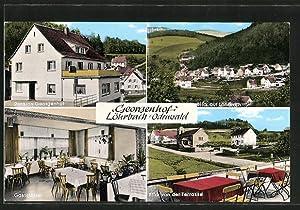 """Ansichtskarte Löhrbach, Gasthaus-Pension """"Georgenhof"""""""
