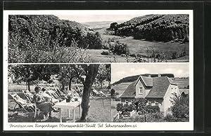 Ansichtskarte Knüll, Privatpension Langenhagen