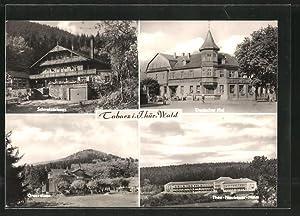 Ansichtskarte Tabarz, Hotel Deutscher Hof, Theo-Neubauer-Heim