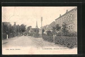 Ansichtskarte Sassenheim, Straatw. van Leiden