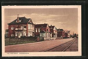 Ansichtskarte Sassenheim, Ortspartie mit Hoofdstraat
