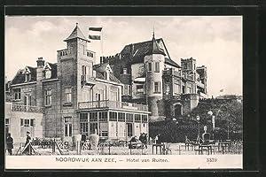 Ansichtskarte Noordwijk aan Zee, Blick zum Hotel
