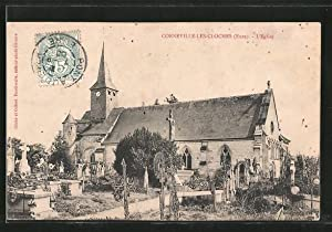 Carte postale Corneville-les-Cloches, l'église