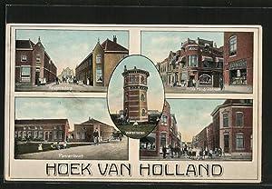 Ansichtskarte Hoek van Holland, Pannenbuurt, Krugersdorp, Prins