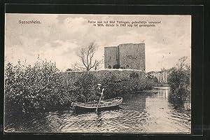 Ansichtskarte Sassenheim, Ruine van het Slot Teilingen