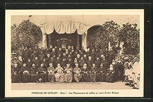 Ansichtskarte Les Missionnaires de Jaffna au sacre