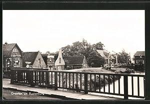 Ansichtskarte Rustenburg, Ortspartie von einer Brücke gesehen