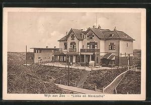 """Ansichtskarte Wijk aan Zee, """"Lioba en Marezathe"""""""