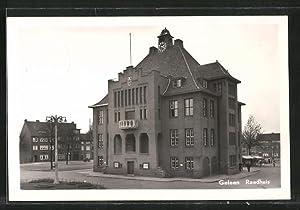 Ansichtskarte Geleen, Raadhuis, Rathaus