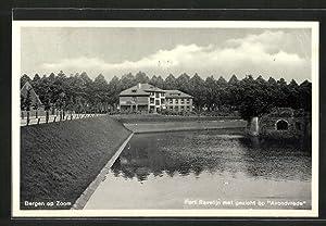 Ansichtskarte Bergen op Zoom, Fort Ravellin met