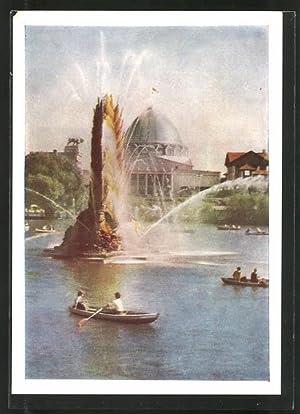 Ansichtskarte Moskau, USSR Exhibition of Economic Achievements,