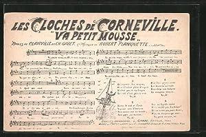 "Ansichtskarte Lied ""Les Cloches de Corneville -"