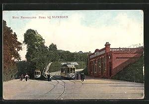 Ansichtskarte Beek, Mooi Nederland, Strassenbahn