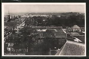 Ansichtskarte Sassenheim, Panorama aus der Vogelschau, Vogelvlucht