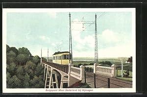 Ansichtskarte Nijmegen, Bergspoor Mool Nederland, Strassenbahn