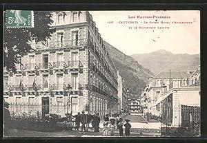 Carte postale Cauterets, le grand-hôtel d'Angleterre et