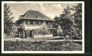 Ansichtskarte Lutterloh, Partie am Christlichen Erholungsheim