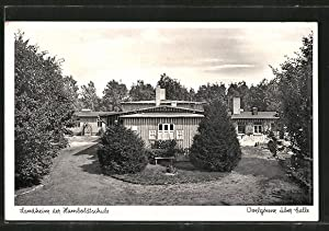 Ansichtskarte Ovelgönne, Landheim der Humboldtschule