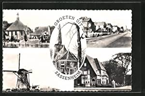 Ansichtskarte Sassenheim, Hoofdstraat, Villa Rusthof