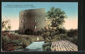 Ansichtskarte Sassenheim, Ruine Slot Teijlingen, voormalige gevangenis