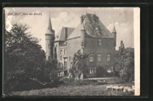Ansichtskarte Well, Slot, Huis van Malsen