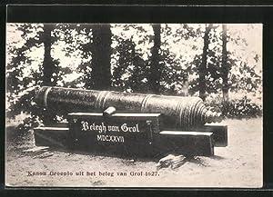 Ansichtskarte Groenlo, Konon uit het beleg van
