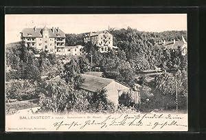 Ansichtskarte Ballenstedt, Hotel Sanatorium Dr. Rosell