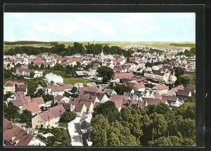 Ansichtskarte Mainburg, Ortsansicht aus der Vogelschau