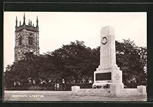 Postcard Ilkeston, Cenotaph