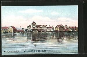 Postcard Moosehead Lake, ME, Waterfront at Kineo