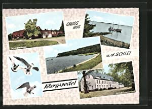 Ansichtskarte Borgwedel, Jugendherberge, Schloss Louisenlund