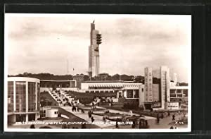 Postcard Scotland, South Cascade and Tower, Empire Exhibition 1938, Ausstellung