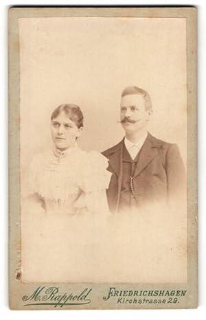 Fotografie M. Rappold, Berlin-Friedrichshagen, Portrait Dame und