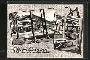 Ansichtskarte Metelen, Hotel am Gauxbach mit Aussen-