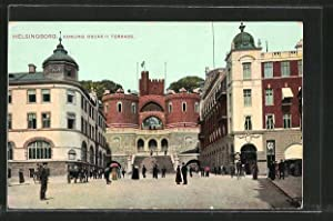 Ansichtskarte Helsingborg, Konung Oscar II Terrass